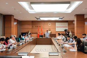 Ủy ban Tài chính – Ngân sách bế mạc phiên họp lần thứ 38