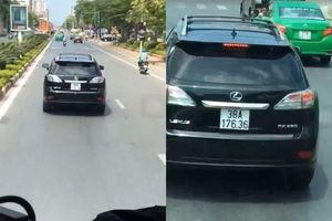Tài xế Lexus cản đường xe cứu hỏa nói gì khi bị tước bằng lái?
