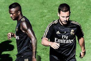 Nghi vấn Hazard mâu thuẫn với Vinicius ở Real