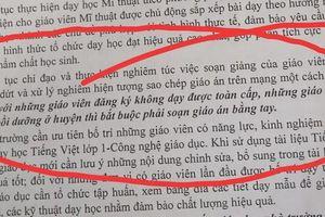 Một tuần soạn 29 giáo án viết tay, nhiều giáo viên Kỳ Sơn có phải là siêu nhân?