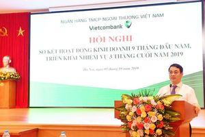 9 tháng đầu năm Vietcombank đạt lợi nhuận trước thuế đạt 17.250 tỷ đồng