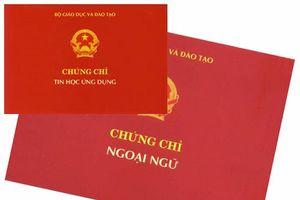 3 trường đại học ở Nghệ An bị ngừng cấp chứng chỉ Tin học và Ngoại ngữ