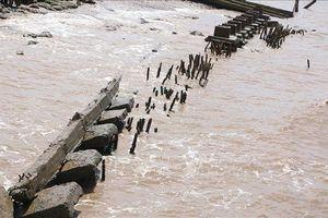 Bạc Liêu: Xuất hiện nhiều điểm sạt lở bờ biển