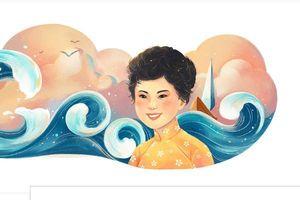 Nhà thơ Xuân Quỳnh bất ngờ được Google vinh danh cùng 'Sóng', 'Thuyền và biển'