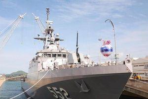 Thái Lan chính thức biên chế chiến hạm nội địa cực mạnh