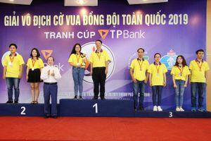 Tp. Hồ Chí Minh thắng lớn tại giải cờ vua đồng đội toàn quốc tranh cúp TPBank