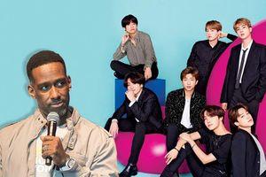 BTS nhận được lời bày tỏ ngưỡng mộ đặc biệt từ thành viên nhóm nhạc R&B Mỹ và con trai