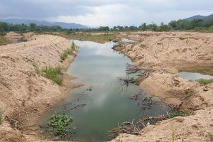 Tây Sơn (Bình Định): Khai thác cát ảnh hưởng đến đời sống dân sinh