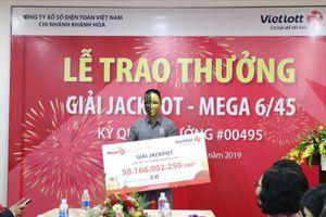 Người đàn ông trúng hơn 50 tỉ đồng nhờ mua Vietlott trong 3 năm là ai?