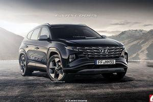 Hyundai Tucson 2021 sẽ có thiết kế năng động