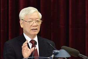 Tổng Bí thư, Chủ tịch nước Nguyễn Phú Trọng phát biểu khai mạc Hội nghị Trung ương 11