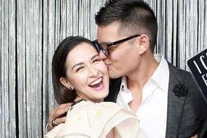 'Mỹ nhân đẹp nhất Philippines' cùng chồng đi dự hôn lễ