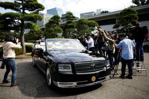 Xe mui trần đặc biệt của Nhật hoàng Naruhito cho lễ đăng cơ