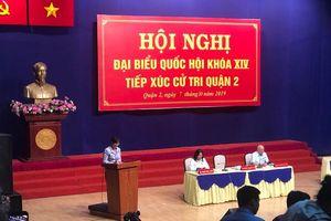 TP Hồ Chí Minh: Cử tri lại đề nghị thanh tra toàn diện dự án khu đô thị mới Thủ Thiêm