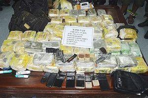 Thu giữ gần 70 kg ma túy từ 2 đường dây buôn bán xuyên quốc gia