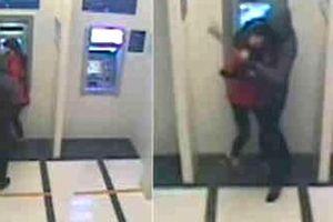 Gã đàn ông dùng dao uy hiếp cướp người vừa rút tiền tại ATM