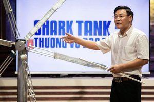 Shark Việt cùng 'điên' với ý tưởng tuabin gió của nhà sáng chế 5x