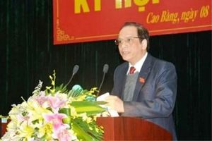 Thủ tướng phê chuẩn miễn nhiệm Phó Chủ tịch tỉnh Cao Bằng