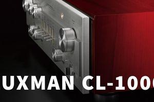 Luxman ra mắt preamp đầu bảng mới nhất CL-1000