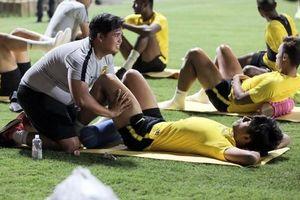 Malaysia bước vào buổi tập đầu tiên ngay sau cuộc tập trận của thầy trò Park Hang-seo