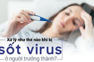 Xử lý như thế nào khi bị sốt virus ở người trưởng thành?