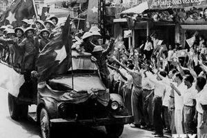 Ký ức hào hùng của ngày giải phóng Thủ đô 10/10 cách đây 65 năm