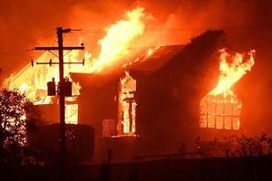 Cháy nhà tập thể ở Nga khiến 5 người thiệt mạng