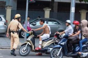 Cảnh sát giao thông chỉ được dừng xe kiểm tra trong 4 trường hợp?