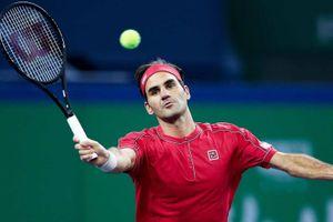 Federer ghi điểm đẹp mắt trong trận ra quân ở Thượng Hải Masters