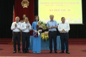 Bà Nguyễn Thị Hằng được bầu giữ chức Phó Chủ tịch HĐND huyện Thanh Trì