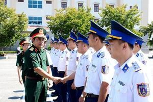 Đoàn công tác Bộ Tổng Tham mưu thăm, kiểm tra tại Bộ tư lệnh Vùng Cảnh sát biển 2