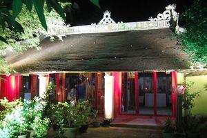 TT-Huế: Nhà thờ Tổ ngành Hát bội - điểm đến mới của du khách