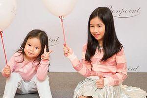 Ngắm hai con gái đáng yêu của Hồ Hoài Anh - Lưu Hương Giang
