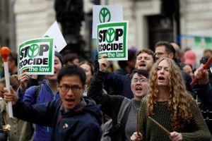 Hàng nghìn người biểu tình kêu gọi chống biến đổi khí hậu
