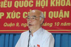 'Xử lý ông Tất Thành Cang thuộc thẩm quyền Đảng bộ và HĐND TPHCM'