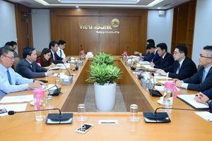 Lãnh đạo MUFG Bank thăm và làm việc với Ban lãnh đạo VietinBank