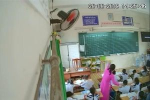 Cô giáo đánh học sinh từng tố cáo hiệu trưởng về thu chi, dân chủ
