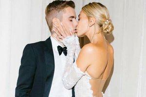 Justin Bieber và bà xã lần đầu khoe ảnh cưới ngọt ngào