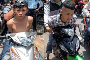TP.HCM: Trinh sát tóm gọn 2 thanh niên nghiện game bắn cá đi cướp điện thoại