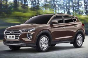 Hyundai Tucson 2020 lộ diện với thiết kế giống Palisade