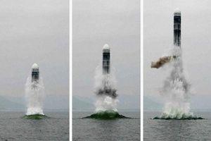 Mỹ 'lạnh sống lưng' vì tên lửa đạn đạo phóng từ tàu ngầm thế hệ mới của Triều Tiên?
