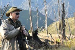 Tổng thống Nga Putin đón sinh nhật thứ 67 tại rừng Siberia