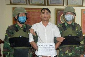 Tiếp tục bắt giữ tội phạm ma túy cùng súng đạn ở vùng biên Hà Tĩnh