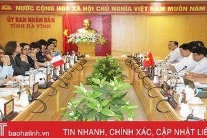 AFD luôn đồng hành triển khai dự án cải thiện cơ sở hạ tầng đô thị tại Hà Tĩnh