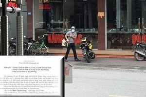 Bỏ quên ĐTDĐ, tên cướp tiệm vàng Lương Oanh bị phát hiện danh tính