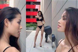 Phạm Hương đăng clip catwalk, anti-fan bóc phốt: 'Ai chẳng biết chị sửa mũi - gọt hàm - làm răng'