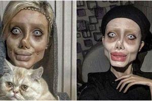 'Angelia Jolie phiên bản xác sống' bị bắt