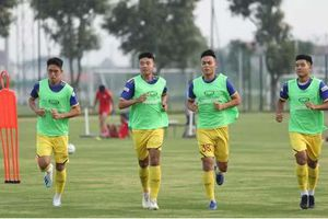 Chốt danh sách U22 Việt Nam dự trận đấu với U22 UAE: Trọng Đại, Thanh Hậu bị loại