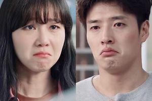 'Khi hoa trà nở' tập 6: Chết cười khi Kang Ha Neul - Gong Hyo Jin mếu máo, òa khóc như con nít