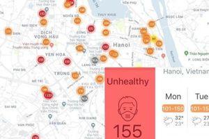 Nhìn lại sự việc 'AirVisual và Hà Nội ô nhiễm nhất thế giới'